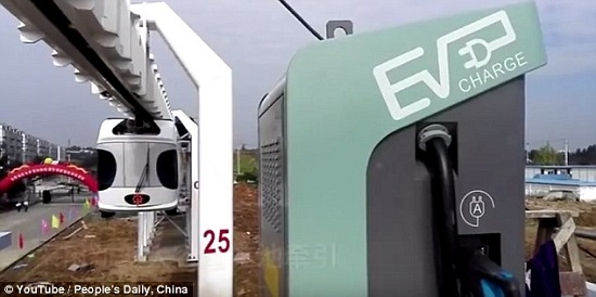 تکمیل و افتتاح اولین خط ریلی هوایی چین