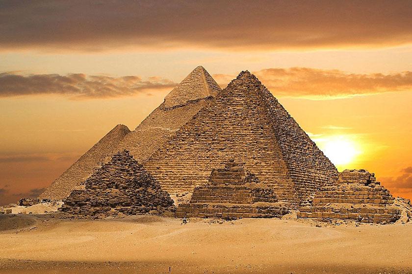 دو حفره جدید در بزرگترین هرم مصر با فناوری جدید کشف شد