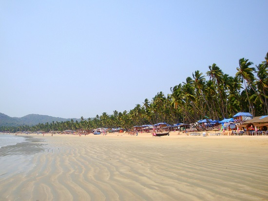 جاذبه های گردشگری هند ، ساحل پالولم گوا