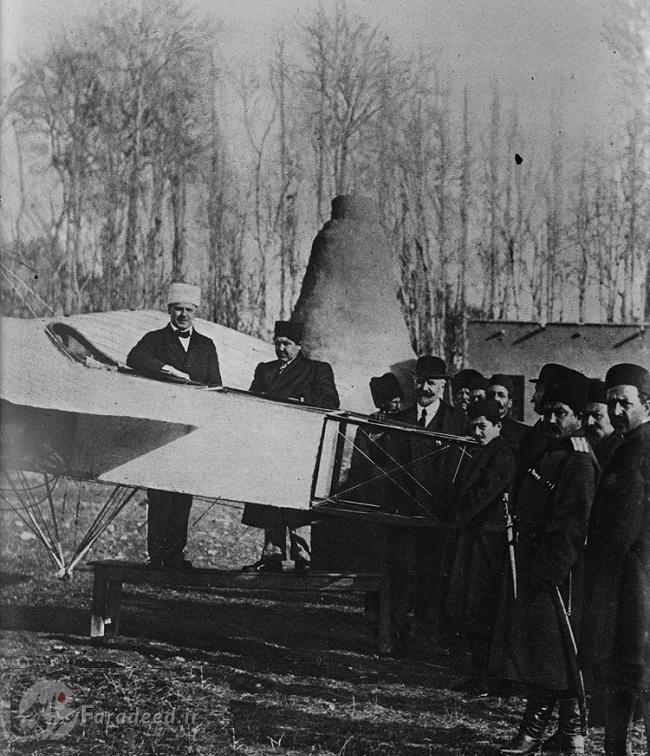 داستان جالب نخستین هواپیمای ایران