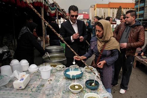 شکم گردی در ایران با غذاهای متنوع