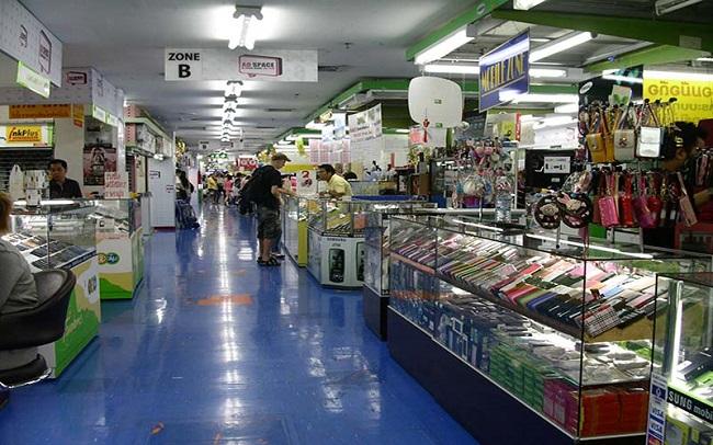 جاذبه های گردشگری بانکوک ، مرکز خرید ام بی کی