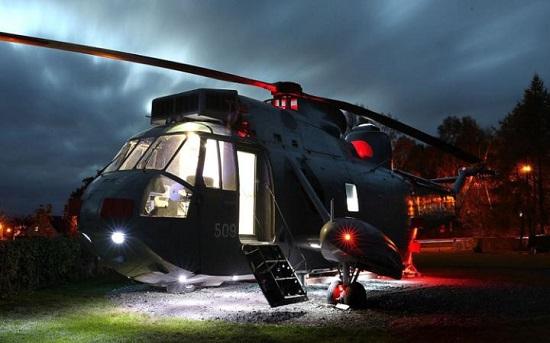 هلیکوپتر ، اقامتگاهی کاملاً متفاوت