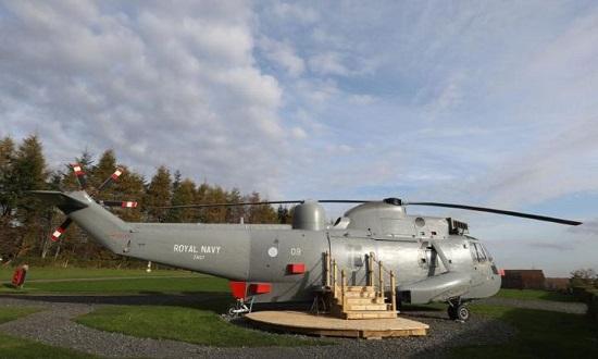 اقامت متفاوت در هلیکوپتر