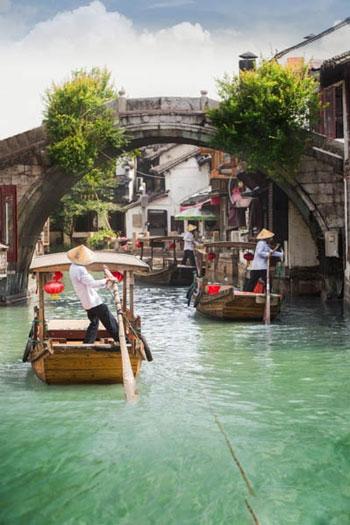 شهر WUZHEN در کشور چین