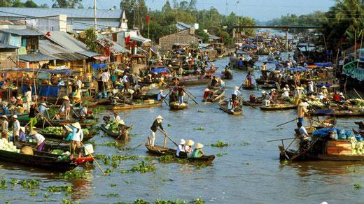 شهر CAN THO در کشور ویتنام