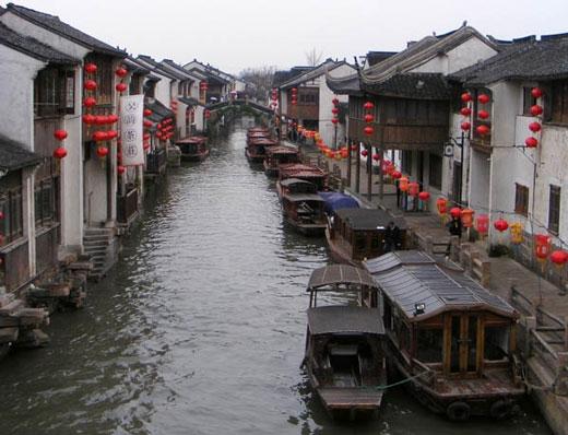 شهر SUZHOU در کشور چین