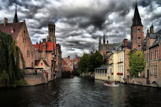 شهر BRUGES در کشور بلژیک