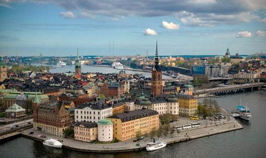 شهر STOCKHOLM در کشور سوئد