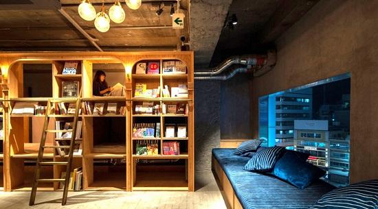 هتل تخت و کتاب توکیو (Book and Bed Tokyo) ، توکیو، ژاپن