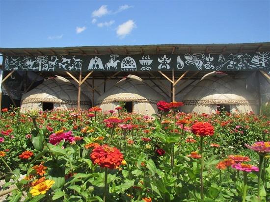 روستای عشایری شاد (،Happy Nomads)، کاراکول، قرقیزستان