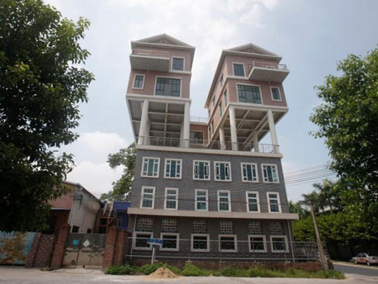 خانه های عجیب ولی واقعی