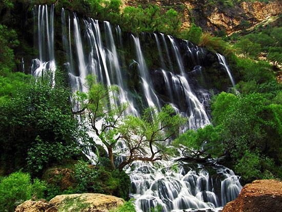 آبشارهای زیبا در جنوب ایران